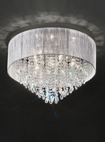 Franklite FL2281/7 Chrome Ceiling Light
